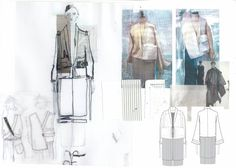 Fashion Sketchbook - fashion design drawings & development; fashion portfolio // Lowri Edwards