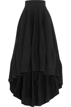 Antonio Berardi Cotton-blend jersey skirt