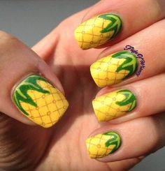 top-17-beauty-frutas-prego-designs-simple-primavera-verão-new-home-manicure (4)