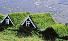 photo: mother nature's roof, iceland architecture, our cities could be healthier Architecture Tumblr, Living Roofs, Roof Design, Rooftops, Oh The Places You'll Go, Beautiful Places, Amazing Places, Amazing Photos, National Parks