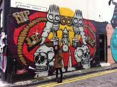 ~ Graffiti ~ London Town With @Yasmin Hussain