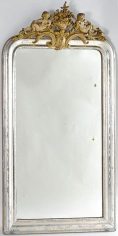 Antique French Mirror...                                                                                                                                                     More