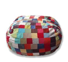 Patchwork Family-Size MultiColour2 Beanbag – TheBeanBag