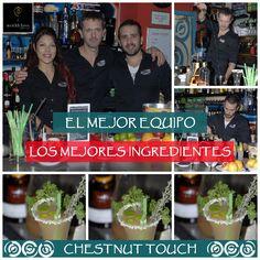 """Con mejor equipo y los mejores ingredientes se consigue nuestro cocktail """"Chestnut touch"""" para #WorldClass15 ven a Maremoto Café & Cocktail a probarlo."""