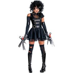 Edward Scissorhands Miss Scissorhands Adult Halloween Costume