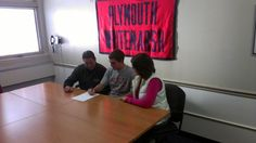 Sr. Austin DiBonaventure signs letter of intent to play baseball at Chestnut Hill College!