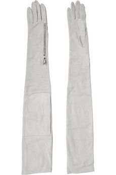 Rick Owens Nubuck gloves  | THE OUTNET