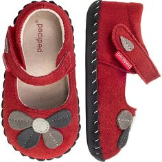 Pediped Brittany Shoe in Red