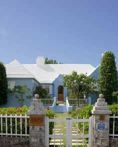 Bluebird Cottage, on the road to Tucker's Town in Bermuda