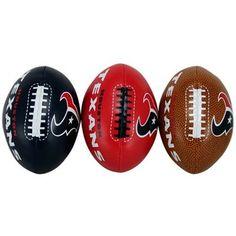 Houston Texans Softee 3-Ball Set Houston Texans Football fadf23ee4