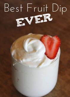 Add a little vanilla extract and a little cinnamon and it's FABULOUS!!