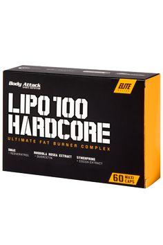 Body Attack Lipo 100 Hardcore günstig bestellen | Natural-Fitness24