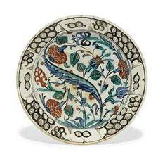 an_iznik_pottery_dish_ottoman_turkey_circa_1600_d5551068h