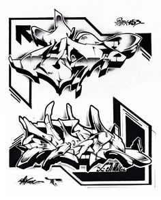 black and white exchanges 2013 with: tums aka. urok more on: http://69exchanges.tumblr.com/