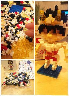 Build your own LOZ nano block Seiya! Great gift idea!
