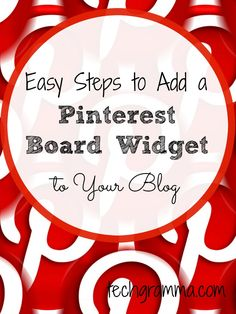 Adding a Pinterest board widget to the sidebar or footer of you blog allows readers to quickly and easily connect with you on Pinterest. Follow these steps! Make Money Blogging, Blogging Ideas, Build A Blog, Blogging For Beginners, Pinterest Board, Social Media Tips, Boards, Business Tips, Online Business
