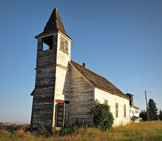 I wonder if the sounds of a congregation can still be heard from the walls of abandoned churches