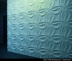 Modular arts panels - bloomwould be nice for an accent wall Decor Interior Design, Interior Decorating, Stone Veneer, Panel Art, Art Journal Inspiration, Textured Walls, Wall Design, Pattern, Home Decor