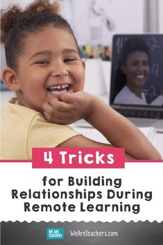 4 Tricks for Building Relationships During Remote Learning. Now, more than ever, it's critical for teachers to build relationships with students during remote learning. They need to know you're there! We Are Teachers, First Year Teachers, Classroom Behavior, Classroom Rules, Classroom Management Tips, Teacher Helper, Interesting Conversation, Substitute Teacher, Classroom Community