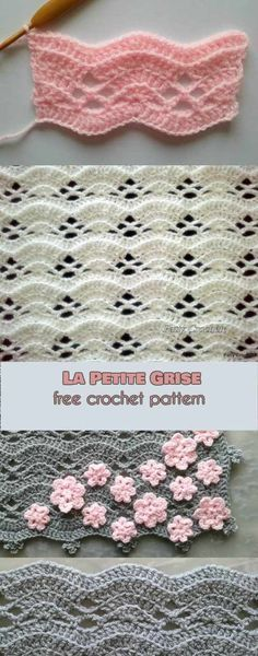 This eye-catching stitch will be perfect for many kinds of your projects like for example throws, scarfs or ponchos. It is also the perfect choice of stitch for baby blankets! La Petite Grise- Free Crochet Pattern is here. Find the pattern for La Petite Grise Gray blanket here #freecrochetpattern #freecrochet #crochet3 #easycrochet #patterncrochet #crochettricks #crochetitems #crocheton #thingstocrochet