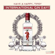 Whoever invented this day was a pure GINius! Let's raise a toast and celebrate together! #InternationalGinDay  #Flemingo #DutyFree #Srilanka