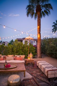 Moroccan me crazy over this Palm Springs hideout! The Korakia does everything they can to make your guests feel like they've stepped out of Palm Springs and into another country. Outdoor Spaces, Outdoor Living, Outdoor Decor, Outdoor Lounge, Lounges, Palm Springs, Magic Places, Outdoor Dinner Parties, Wedding Lounge