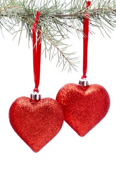 Christmas Heart Decoration.Pinterest