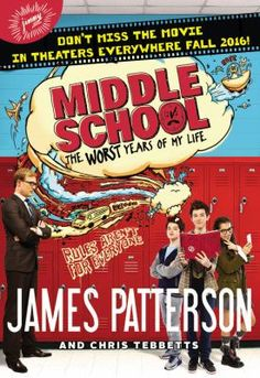 """Wesley at Joseph Howe Senior Public School just read Middle School by James Patterson: """"I would recommend this book by James Patterson because it is just the right amount of pages and it has a few pictures in there to keep the book interesting for the reader. This book is a very easy read but the book itself and the way it is written is just amazing. There was nothing in the book that I did not understand. I was with it all the way and never got confused."""" *****"""