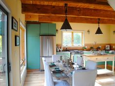The Dining Space - An Easy-Breezy Beachside Reno in Marin County on HGTV