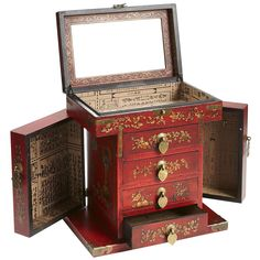 23 Best Chinese Mirror Boxes Images Casket Jewel Box