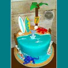 #mirrorglazecake #mirrorglazeocean #crab #dolphin #octopus #beach #beachcake #surfboard #surfer #palmtrees #surfing #florida #shore #seashells #beachlife #saltlife #alledible #handmadedecorations #fondant  #cakedesigner #cakeart #cakelife #customcakes #eatmorecake #eat #crave #love #sweettreats #birthdaycake #cake #cakeislife #itsallaboutthecake #eatcravelovebakingco