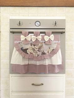 Shabby, Valance Curtains, Ideas Para, Applique, Rose, Lana, Aurora, Kitchen, Home Decor