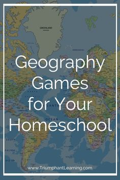 Geography Games For Your Homeschool Take advantage of a child's natural love of games! Sneak in extra practice and have fun at the same time with one of these geography games. Geography Lesson Plans, Geography Activities, Geography For Kids, Teaching Geography, World Geography, Teaching History, Geography Classroom, History Education, Class Activities