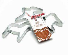 Swedish Cookie Cutters - Dala Horse, Reindeer & Moose