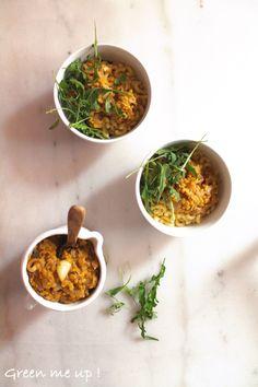 1 Plat Complet en 30 Minutes Chrono : Les Pâtes aux Lentilles @ Green Me Up ! #végétal #vegan #salé