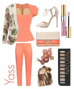 """""""Professional, but styling"""" by icemaoffical on Polyvore featuring Roland Mouret, Weekend Max Mara, Charlotte Russe, VILA, Melie Bianco, Yves Saint Laurent and Forever 21"""