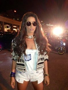 Katerina Stikoudi wearing Wildfox Sunglasses from T shop by Tereza Callitsas