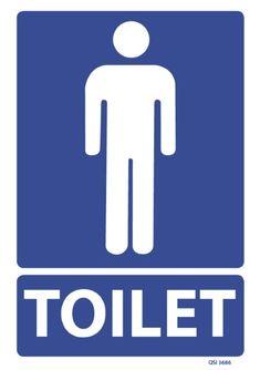 Male Toilet 240x240mm
