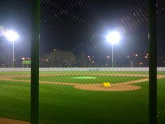 playing under the lights