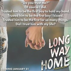 Long Way Home will be released on January 31, 2017! Don't miss Violet & Chevy's story. For preorder information & how to receive 3 bonus scenes, go here: http://www.katielmcgarry.com/post/2016/12/28/FREE-Long-Way-Home-Swag.aspx