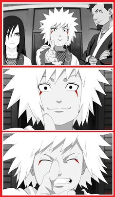 Hi.. I'm Jiraiya.. Send love letters later. :)