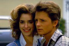 Not-Elisabeth-Shue and Michael J Fox The Future Movie, Future Love, Back To The Future, Claudia Wells, Melora Hardin, Amblin Entertainment, Elisabeth Shue, Michael J Fox, Bttf