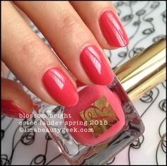 Estee Lauder Spring 2015: Blossom Bright Pure Color P0