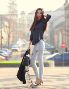 White Jeans, Sammy Dress, My Style, Pants, Fashion, Trouser Pants, Moda, Fashion Styles, Women's Pants