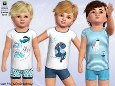 Shorts 'N' Tees for kids by Minicart - Sims 3 Downloads CC Caboodle