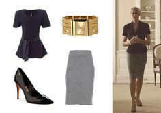 Saias da personagem Claire Underwood House Of Cards, Work Fashion, Fashion 2020, Claire Underwood Style, Dress With Sneakers, Wardrobes, Get The Look, Robin, Ideias Fashion