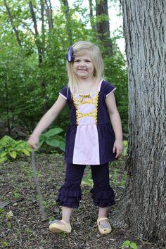 Tower Princess - Rapunzel Inspired Shirt