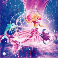 Princess Lumina from Barbie pearl princess