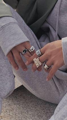 Nail Jewelry, Cute Jewelry, Jewelry Accessories, Jewlery, Trendy Jewelry, Luxury Jewelry, Piercings, Nagel Tattoo, Grunge Jewelry
