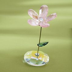Swarovski Flower Crystal Art Glass Figurine